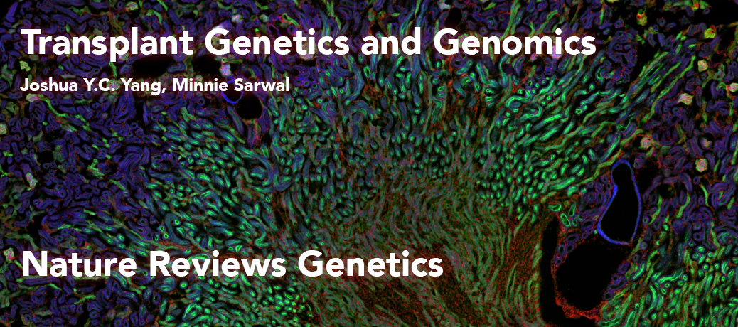 Joshua Yang (Entering Class of 2016) is first author on Nature Reviews Genetics
